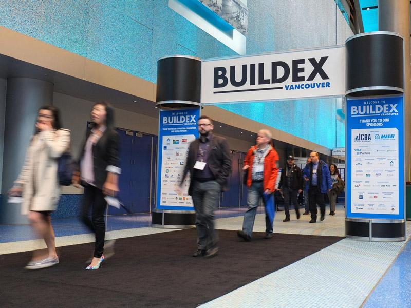 BUILDEX in Vancouver im European Innovations Pavilion